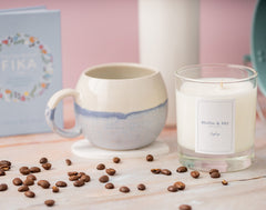 Mollie & Sky luxury candle Zephyr and coffee