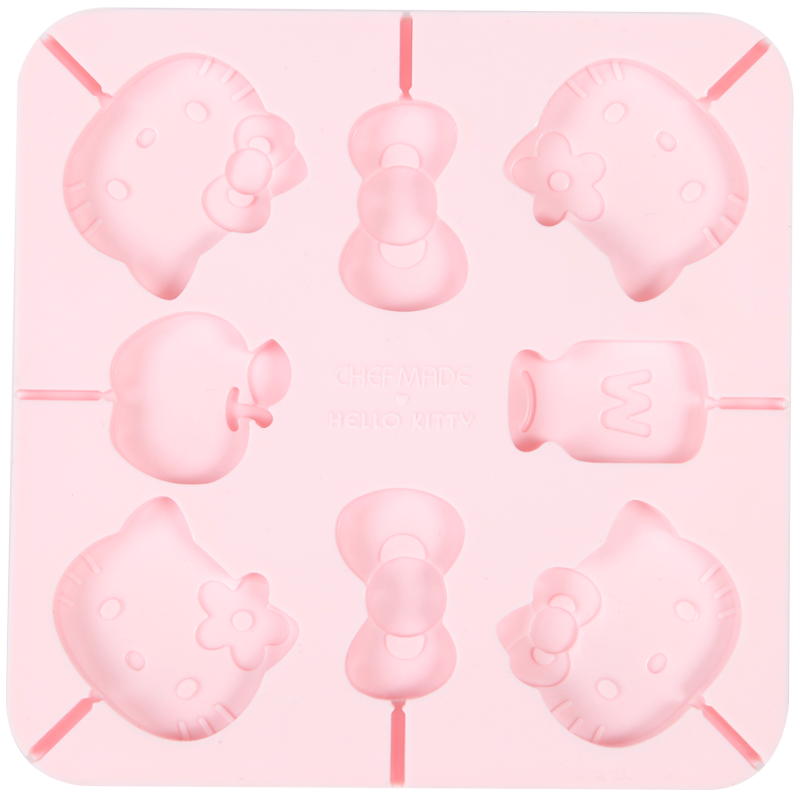 Hello Kitty Lollipop Mold 8-Well