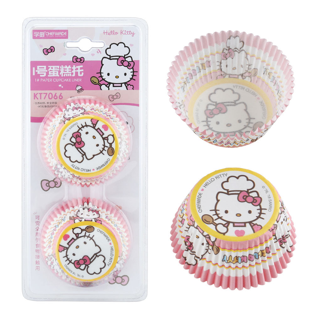 Hello Kitty Chef Muffin Liners 100Pcs