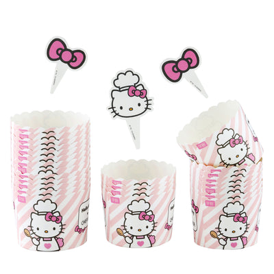 Hello Kitty Chef Muffin Liners 25Pcs