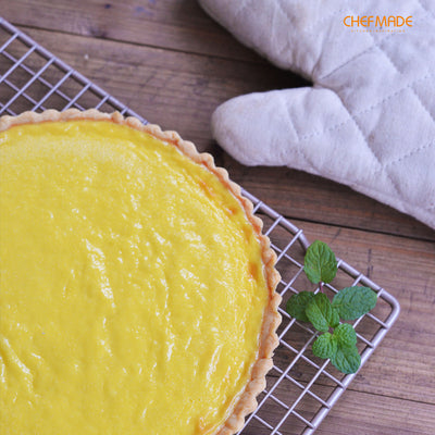 "9.5"" Round Tart Pan with Removable Bottom"