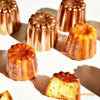 "2"" Copper Cannele Cup 6Pcs (Gift Box)"
