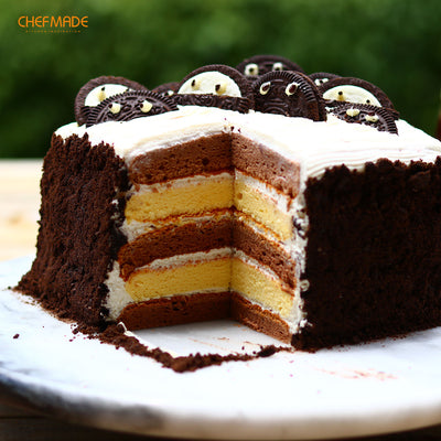 "6"" Layers Cake Pan Square 5Pcs"
