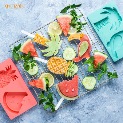 Popsicle Mold (Pineapple & Watermelon)
