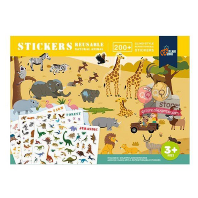 Velany™ New Reusable Stickers Book Educational Toys