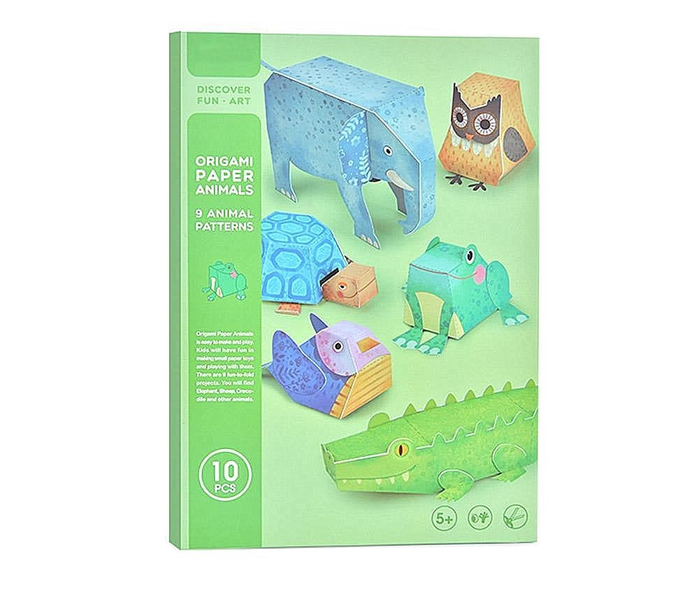 Velany™ Early Learning Origami Paper Animals Craft Kits