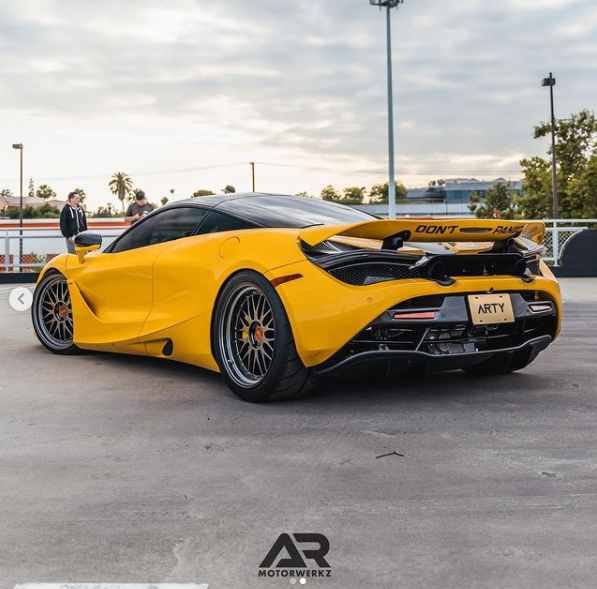 AR Signature Custom BBS LM For Mclaren 720S