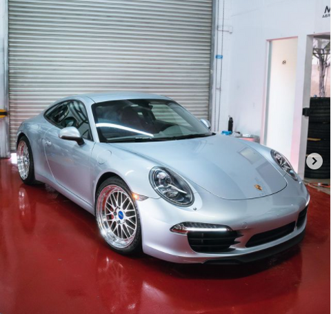 AR Signature Custom 20In BBS LM For 991 911 Carrera & Carrera S