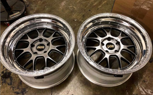 AR Signature Custom 20In BBS LMR For 991 911 C4S