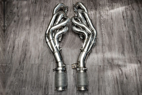 FI Exhaust Long Tube Catless Headers Lamborghini Huracan LP610-4 2014-2020