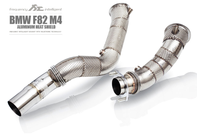 Fi Exhaust High Flow Catless Downpipes BMW F80/F82/F83/F87 M2 Competition/M3/M4