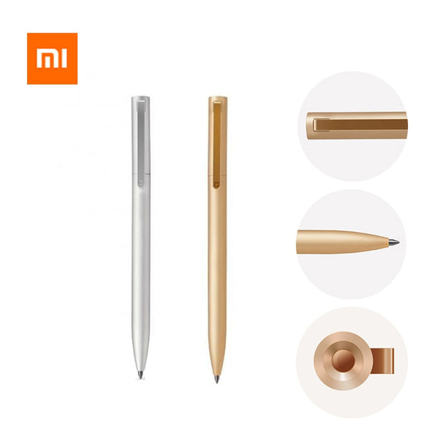 Xiaomi Metal Sign pen Refill Black and Blue Ink 10PC