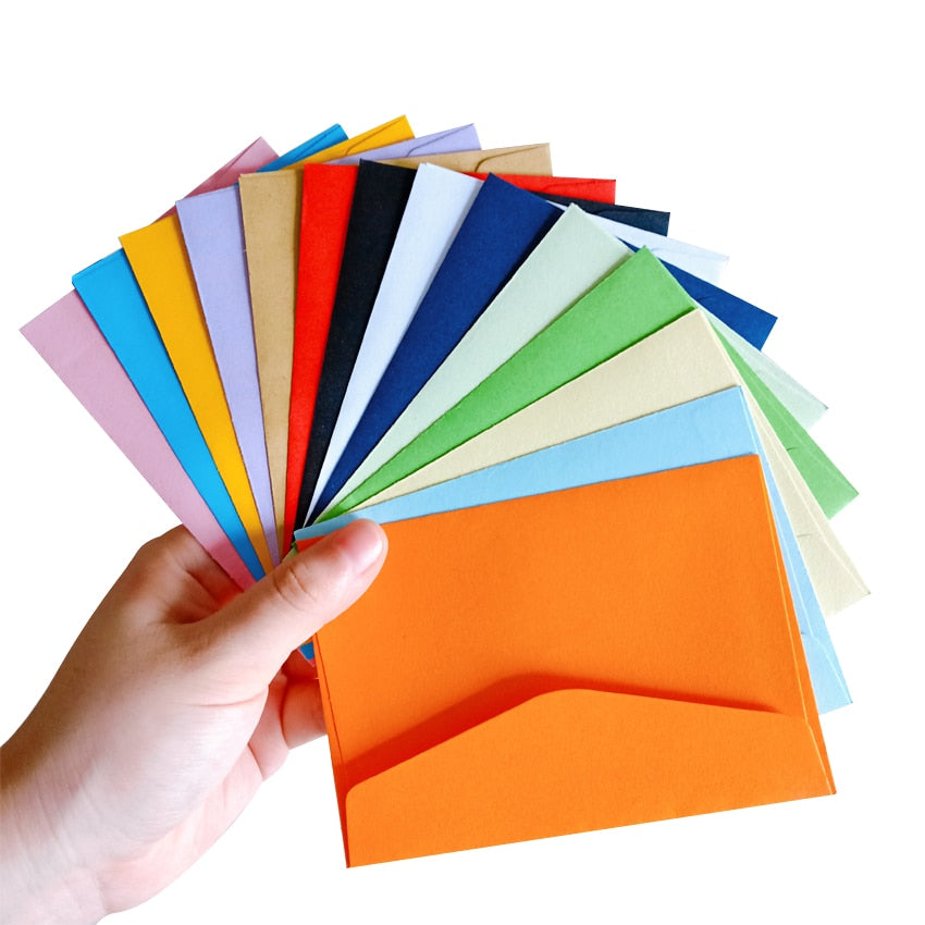 Mini envelopes 10pcs/lot