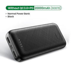 Power Bank 20000mAh Fast Phone Charger Quick Charge 4.0