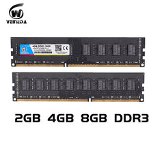 DDR3 Ram 4 gb 8 gb 1600Mhz Compatible 1333 1066, 240pin for All AMD and Intel Desktop
