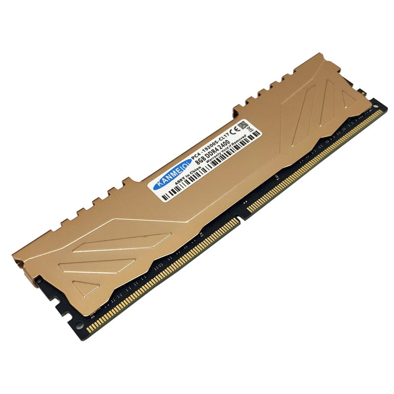 DDR4 4GB 8GB ram 16GB 2133mhz 2400/2666mhz desktop memory with heat sink DIMM 1.2V 288pin