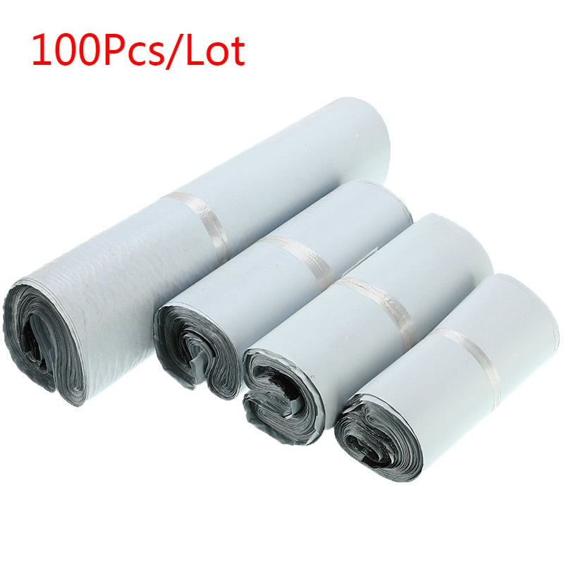 Plastic Envelope Bags Self-seal Adhesive Courier 100Pcs/Lot