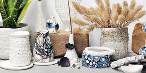 Handmade one of a kind Australian ceramics