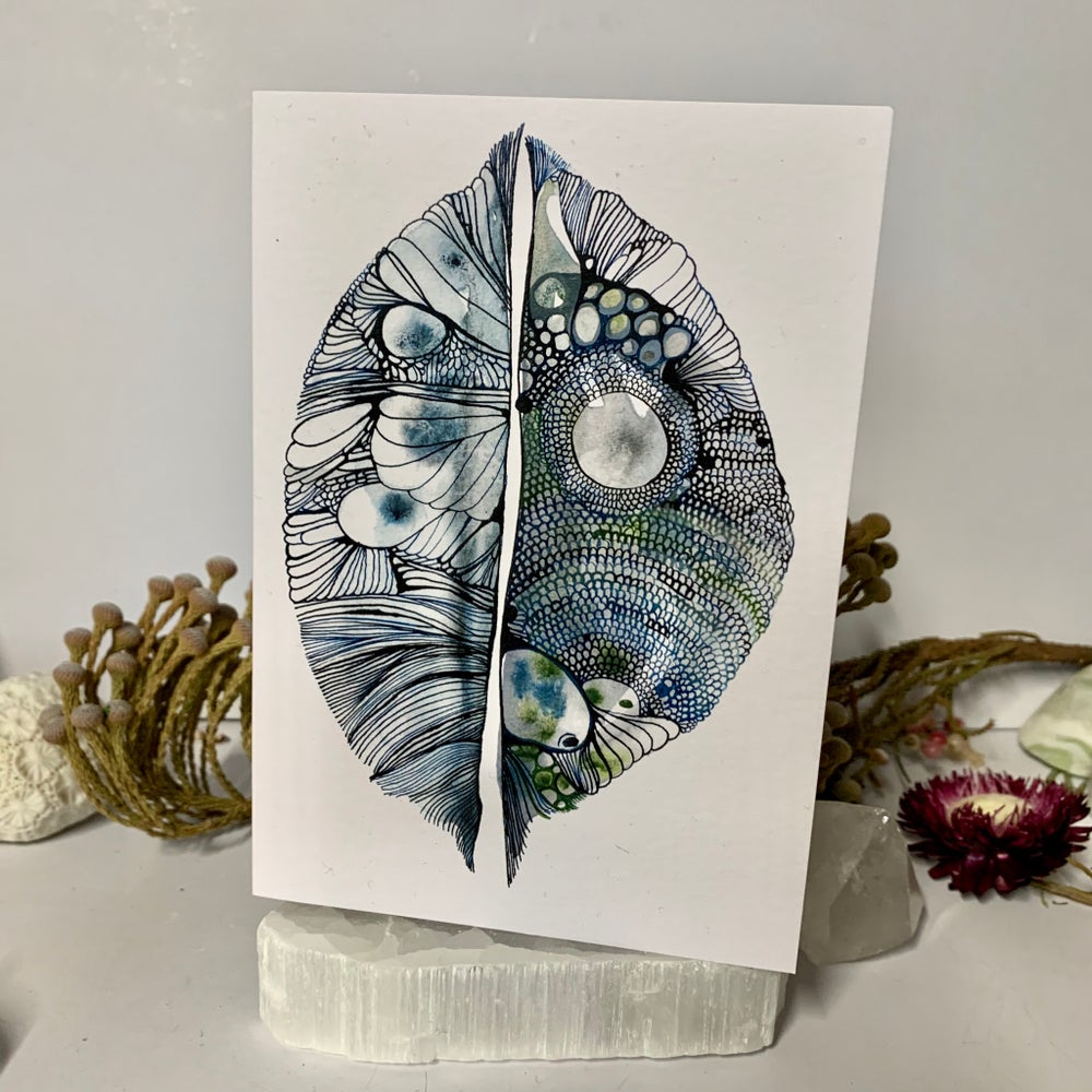 'Pod' greeting card