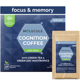 Cognition Instant Coffee with Green Tea & Green Oat Nootropics