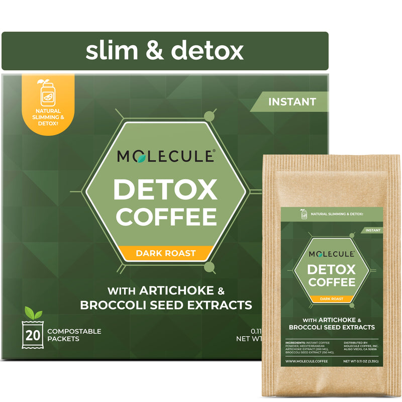 Detox Instant Coffee with extra pure Artichoke and Broccoli seed extracts