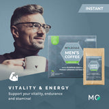 Men's Instant Coffee with Panax Ginseng and Pumpkin Seed extracts