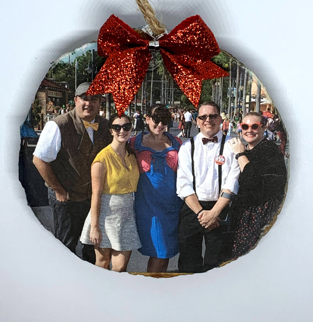 Custom Photo Ornament or Magnet