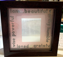 "Load image into Gallery viewer, 6"" Affirmation Mirror"