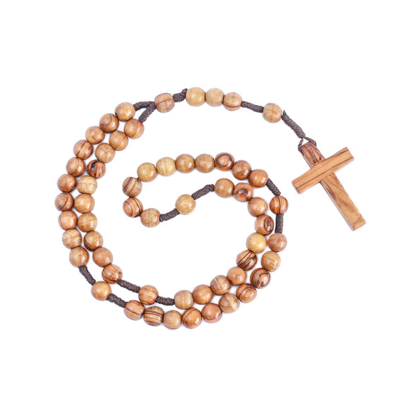 authentic natural olive wood wooden rosary beads