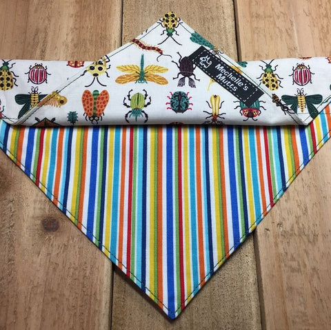 two in one bandana handcrafted pet item