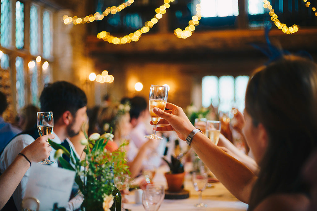 How to welcome your wedding guests