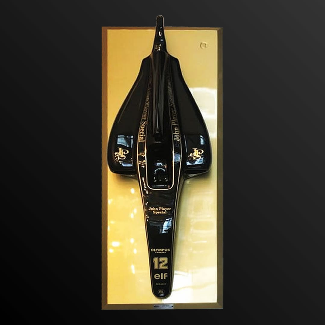 Mini F1 Lotus 97T 132 x 50 cm by Adhemar Cabral