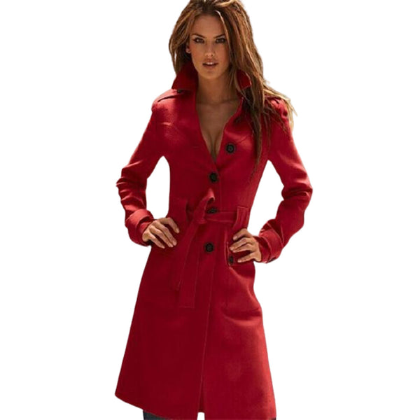 Outerwear Slim Sexy Coats