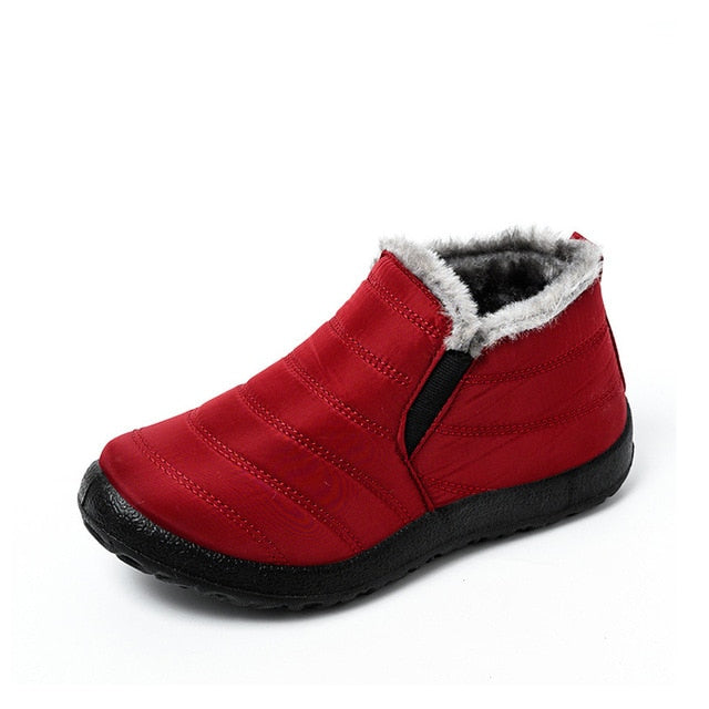Women Warm Plush Snow Boots