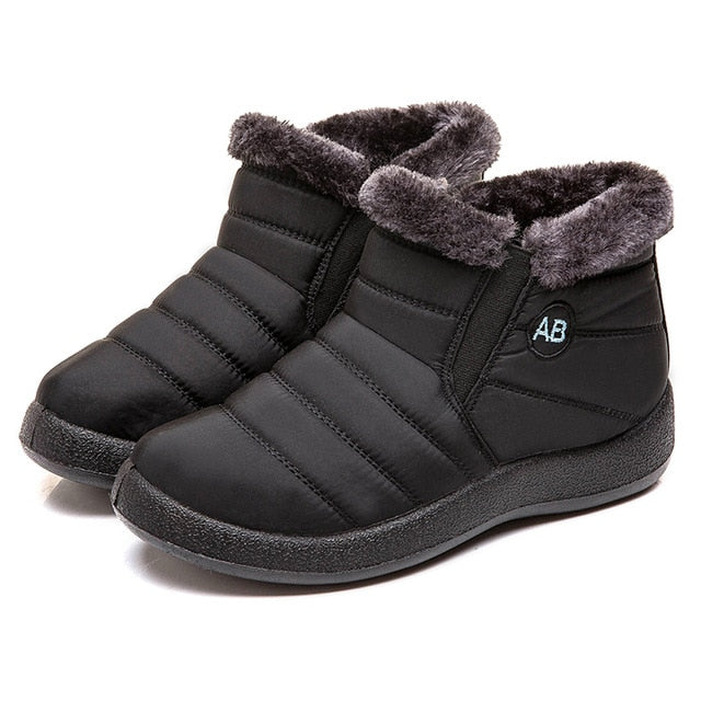 Women Fashion Waterproof Snow Boots