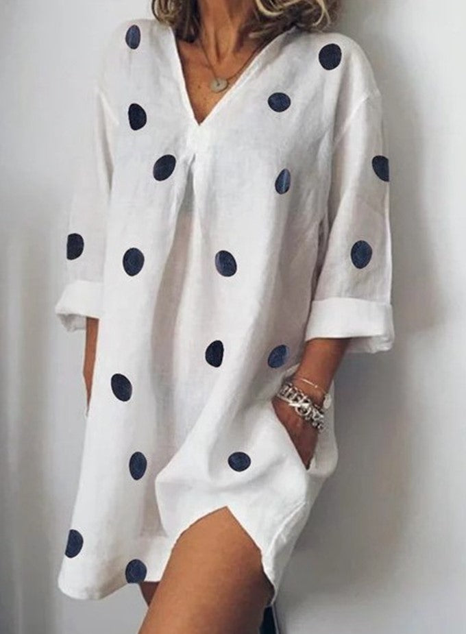 Womens Summer V-Neck Dresses