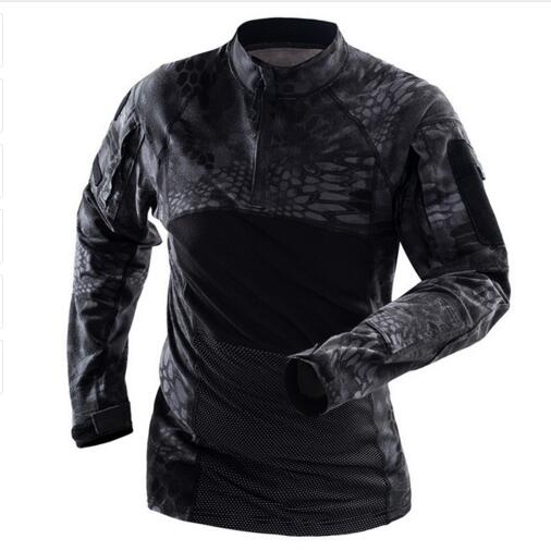 Camouflage Tactical T Shirt