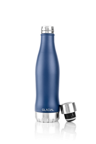 GLACIAL BOTTLE BLU MAT