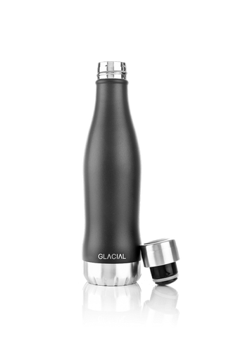 GLACIAL BOTTLE NERO MAT