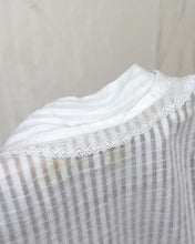 Load image into Gallery viewer, Edwardian Cotton Peasant Lawn Blouse