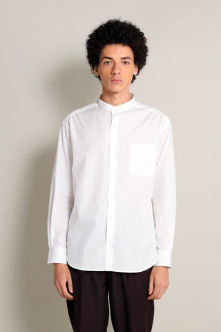 THE WHITE SHIRT(STAND COLLER)