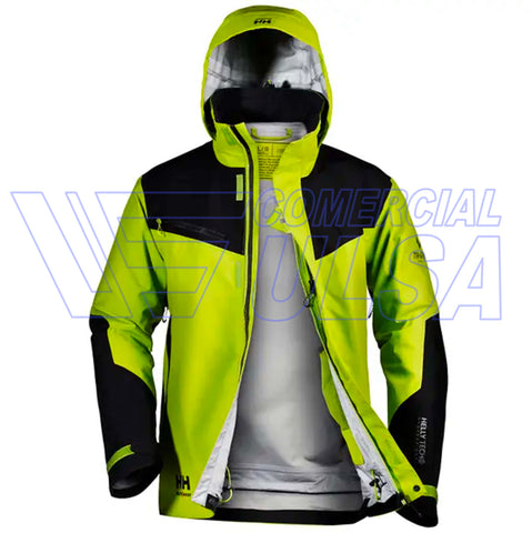 CAZADORA HELLY HANSEN MAGNI 3 LAYER SHELL JACKET NEGRO LIMA