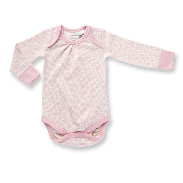 Dusty Pink Long Sleeve Bodysuit