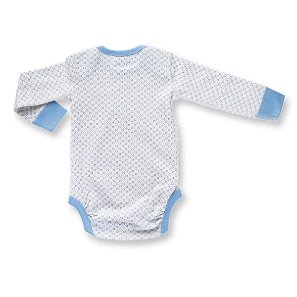 Little Boy Blue Long Sleeve Bodysuit