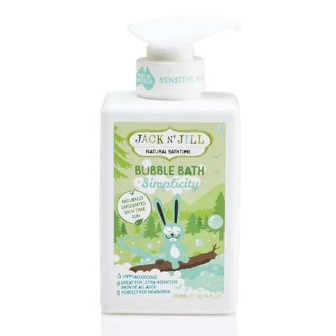Natural Bathtime Bubble Bath, Simplicity 300ml