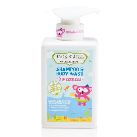 Natural Bathtime Shampoo & Body Wash - Sweetness 300ml