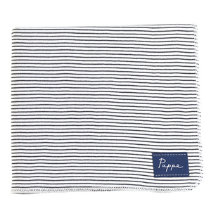 Black & White Stripes - Petey Luxe Organic Wrap