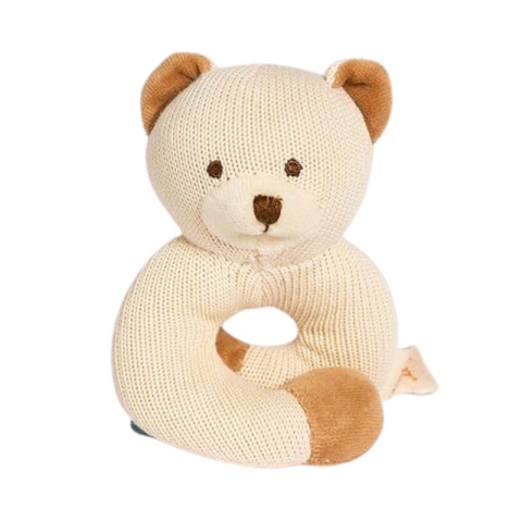 Knitted Rattle Teether
