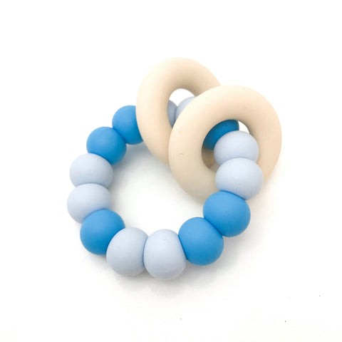 GUMMI Silicone Teether - Blue