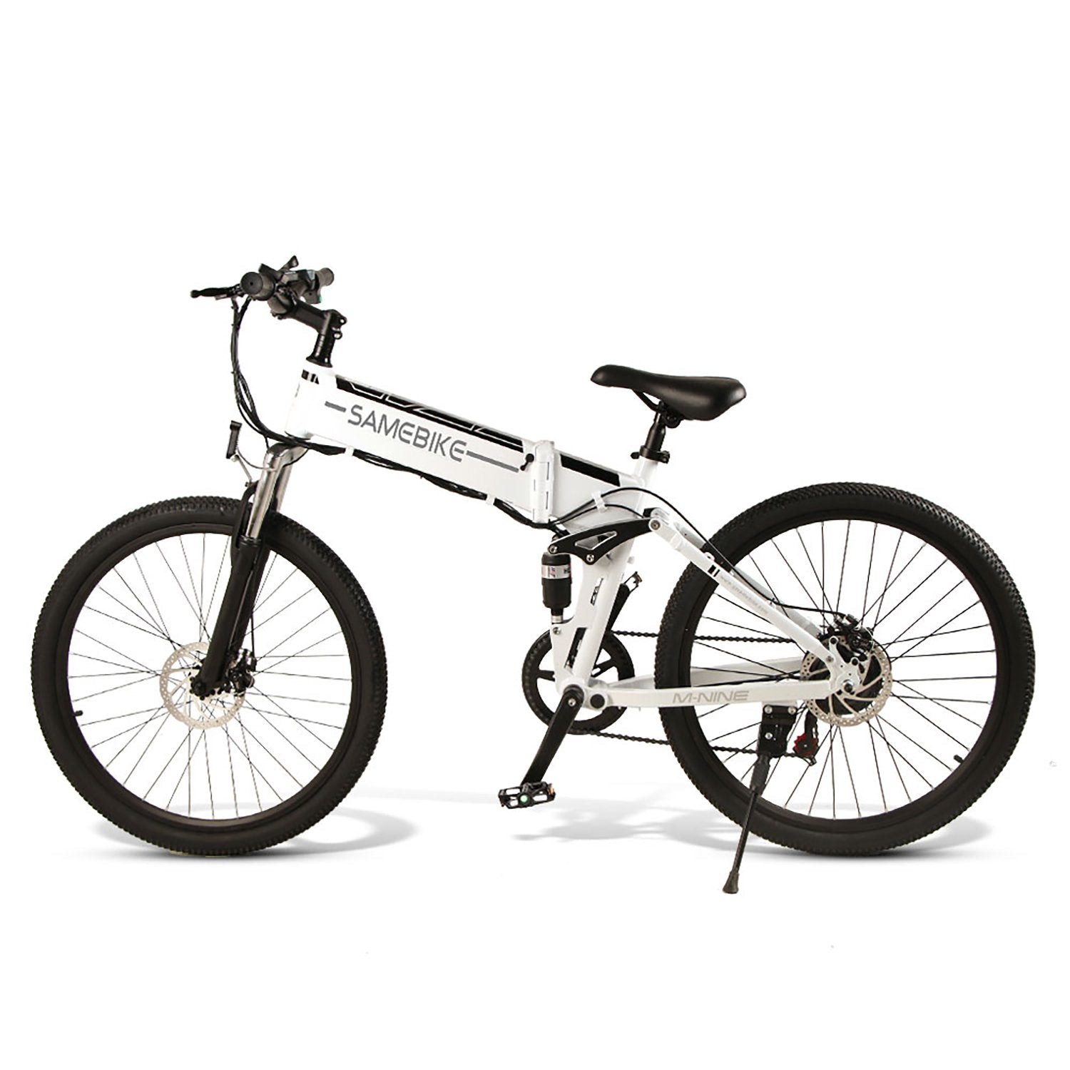 SAMEBIKE LO26-FT Folding Electric Bike 26 Inch Tires 500W Motor 10.4Ah Battery Max 35 KPH